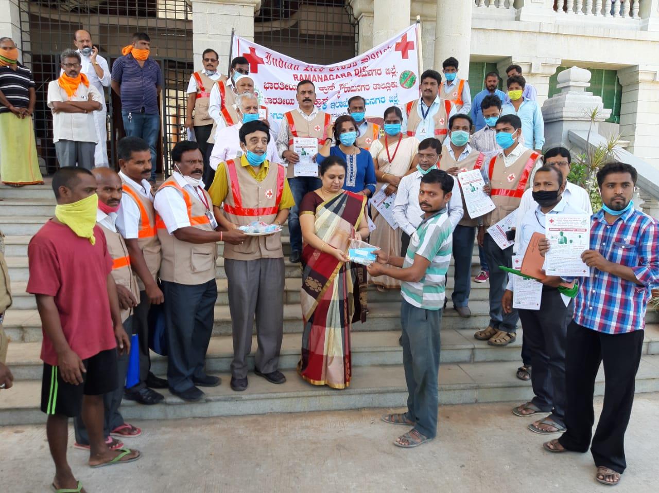 ಭಾರತೀಯ ರೆಡ್ ಕ್ರಾಸ್ ಸಂಸ್ಥೆ ವತಿಯಿಂದ ಜನಜಾಗೃತಿ ಅಭಿಯಾನ