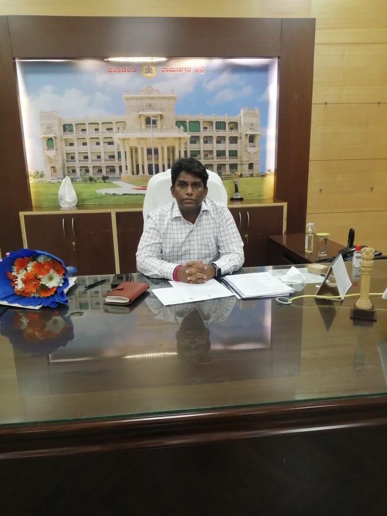 ನೂತನ ಜಿಲ್ಲಾಧಿಕಾರಿಯಾಗಿ ಡಾ: ರಾಕೇಶ್ ಕುಮಾರ್ ಕೆ ಅಧಿಕಾರ ಸ್ವೀಕಾರ