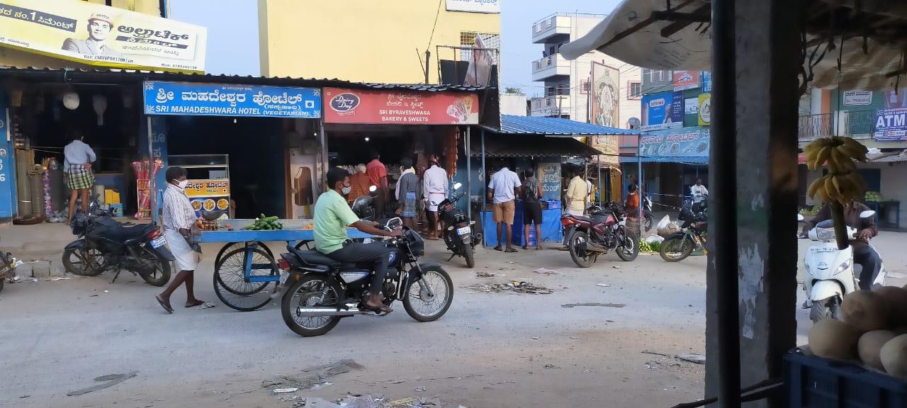 ಕೋಡಂಬಳ್ಳಿ ಗ್ರಾಮದ ವ್ಯಾಪಾರಸ್ಥರಿಗೆ ಲೆಕ್ಕಕ್ಕಿಲ್ಲದ ಕೊರೊನಾ
