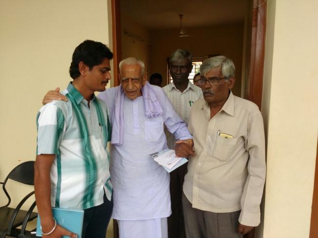 ಆಧುನಿಕ ಕರ್ನಾಟಕವನ್ನು ರೂಪಿಸಿದ ಹಿರಿಯರಲ್ಲೊಬ್ಬರಾದ ಡಾ.ಎಚ್.ಎಸ್. ದೊರೆಸ್ವಾಮಿ ಅವರಿಗೆ 100 ವರ್ಷ